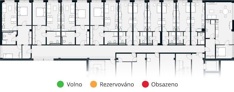 Rezervační systém – rezidence pro seniory Alkalis